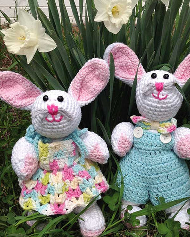 Emma & Eddie Rabbit Crochet Pattern