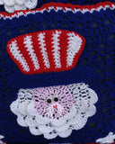 4th of July Uncle Sam Afghan & Pillow Set Crochet Pattern - Maggie's Crochet