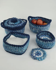 Super Easy Bulky Kitchen Set Pattern - Maggie's Crochet