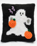 halloween ghosts pillow
