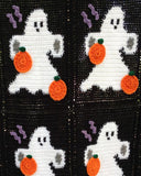 Halloween Ghosts Afghan & Pillow Set Pattern - Maggie's Crochet