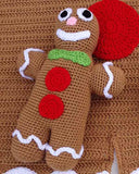 Gingerbread Afghan & Toy Pattern - Maggie's Crochet