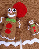 Gingerbread Afghan & Toy Pattern