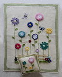 Field of Flowers Afghan & Pillow Set