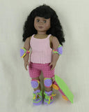 crochet doll clothes skateboard,
