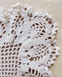 Mildred and Maude Vintage Filet Kitten Doily Crochet Pattern - Maggie's Crochet