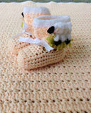 Lambie Pie Layette Crochet Pattern