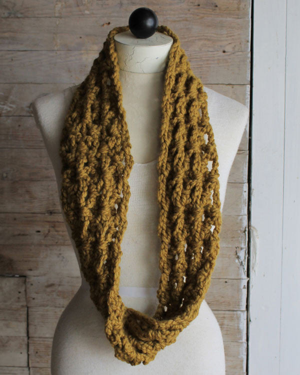 Thick Quick Infinity Scarves Cowls Crochet Pattern Maggies