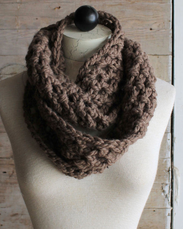 Thick amp Quick Infinity Scarves amp Cowls Crochet Pattern