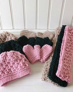 Amelia Slouchy Winter Sets Crochet Pattern