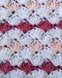 Ruffled Shell Afghan & Pillow Set Crochet Pattern
