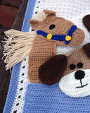 Critter Caboose Afghan Crochet Pattern - Maggie's Crochet