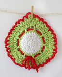 Holiday Dishcloth Set Crochet Pattern