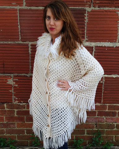 Italian Cape Crochet Pattern