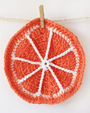 Orange Dishcloth Set Crochet Pattern - Maggie's Crochet