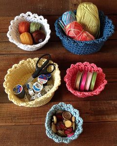 Nesting Baskets Crochet Pattern - Maggie's Crochet
