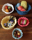 Nesting Baskets Crochet Pattern