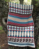 Aztec Afghan & Pillow Set Crochet Pattern