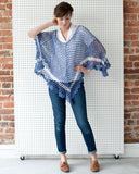 Sea Breeze Poncho Crochet Pattern