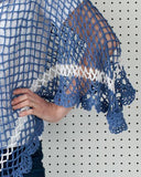 Sea Breeze Poncho Crochet Pattern - Maggie's Crochet