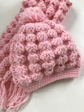 Crochet Pattern Puff Shell Hat and Scarf Set - Maggie's Crochet