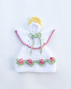 Angel Potholder Crochet Pattern