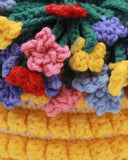 Multicolored Flower Basket