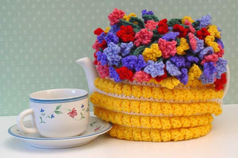 Flower Teapot Cover
