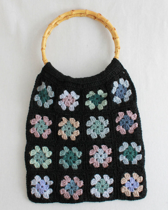 Granny Square Scrap Purse Pattern - Maggie's Crochet