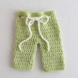 green pants potholder