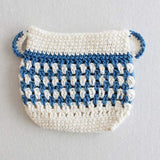 blue and white sugar bowl potholder