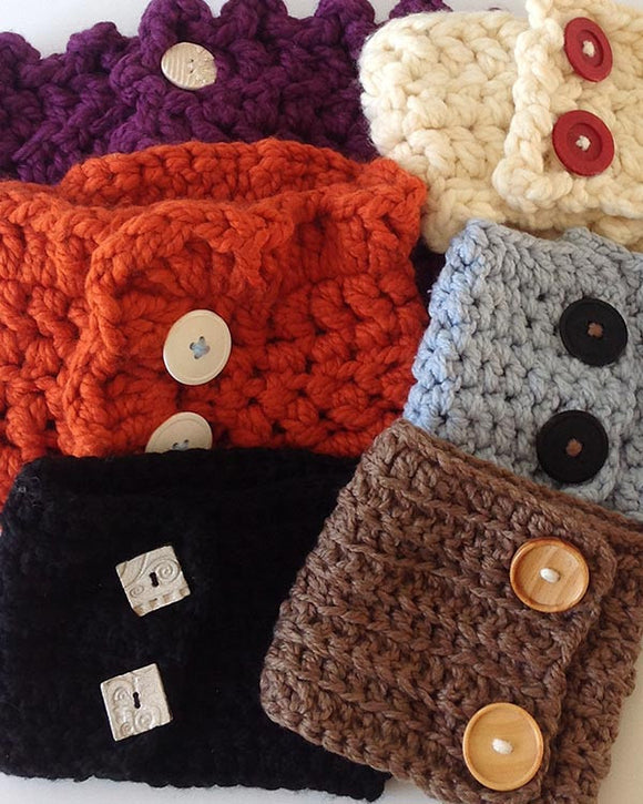 30-Minute Neck Warmers Crochet Pattern: Easy Beginner