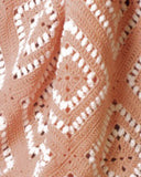 Apricot Illusions Afghan Crochet Pattern