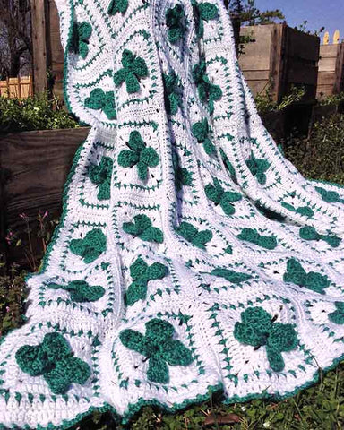 St. Patricks Day Afghan Crochet Pattern