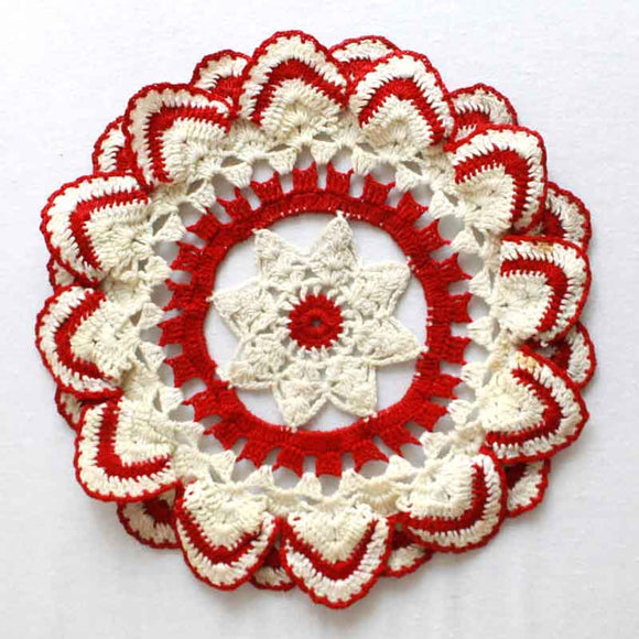 Vintage Ripple Edged Doily Crochet Pattern - Maggie's Crochet