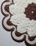 Toasted Marshmallow Dishcloth Crochet Pattern
