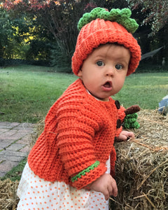Pumpkin Baby Easy Crochet Set