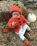 Pumpkin Baby Easy Crochet Set - Maggie's Crochet