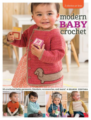 Modern Baby Crochet Pattern Book