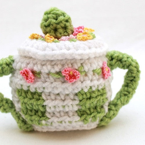 Tea Set Crochet Pattern Maggies Crochet