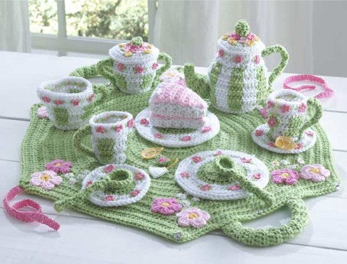 Tea Set Crochet Pattern - Maggie's Crochet