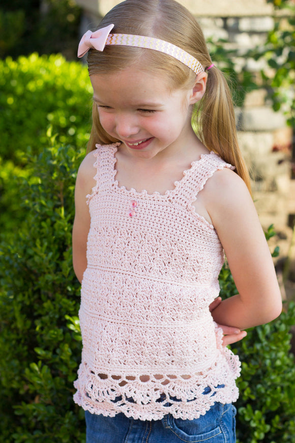 Angel Lace Top Crochet Pattern Download - Maggie's Crochet