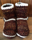 Boots 'n Booties Crochet Slipper Patterns for All Sizes - Maggie's Crochet