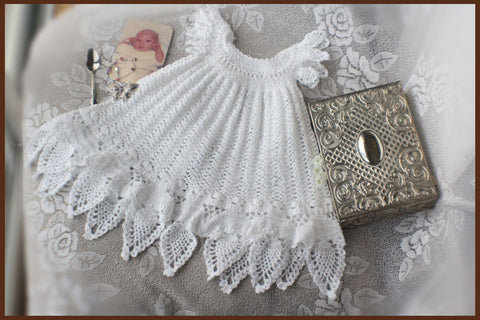 Celestial Christening Gown Crochet Pattern Download