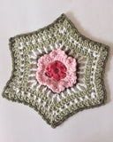 Floral Dishcloth Set Crochet Pattern - Maggie's Crochet