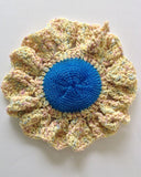 Dishcloths In The Round Crochet Pattern Set - Maggie's Crochet