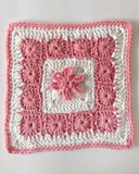 Floral Dishcloth Set Crochet Pattern