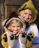 Foxy Lady Sets Crochet Pattern