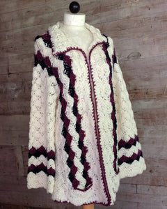 Shell Sweater Jacket Crochet Pattern