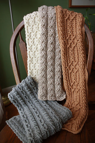 Mountain Range Scarves Collection Crochet Pattern Download
